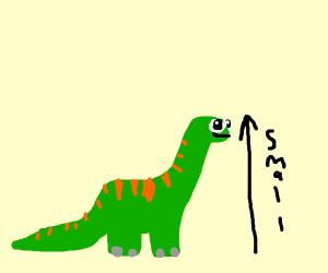 Just a little dinosaur