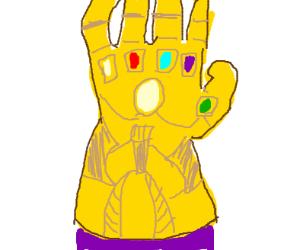 Infinity gauntlet guy