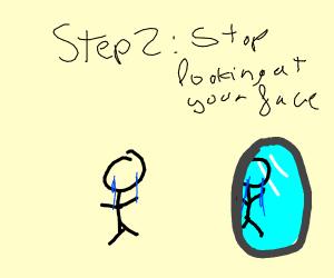 Step 1:suffer a fate worse then death