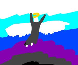Angel ascends