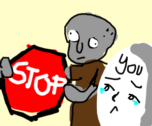 squidward tells you to STOP