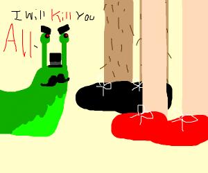 Slug wants to kill all humans