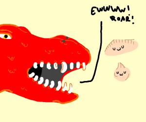 Dragon hates Dumpling