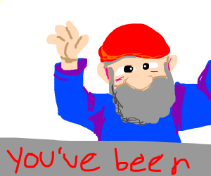 YOU JUST GOT GNOMED