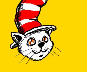 Gentleman cat (gentlecat?) with a top hat