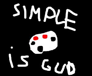 Simple art is good