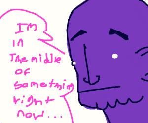 in progress of erasing half the universe