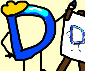 Drawception logo, draws Drawception logo
