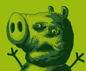 Zombie pig