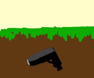 underground gun