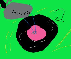 a land mine