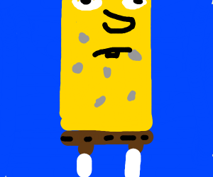 Elongated spongebob
