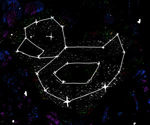 Drawception duck constellation