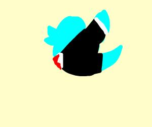 Twitter bird wears a suit