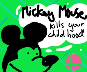 Mickey joins Smash