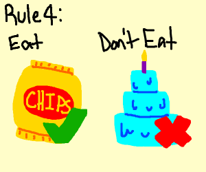 Rule 4: Eat Chips Not Cake