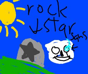 A rock star
