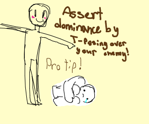 t-pose of dominance