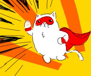 cat superhero
