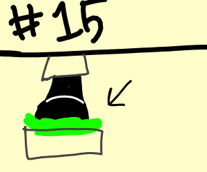 #15 Burger King Foot Lettuce