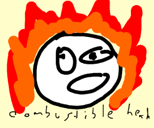 MY FACE IS ON FIRE!!!