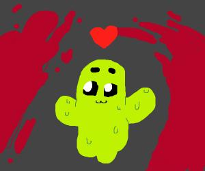gooey green ghost