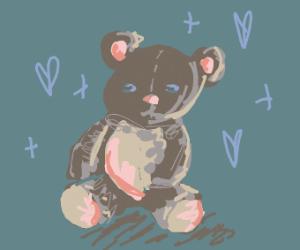 Stitched teddy bear