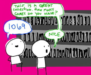1069 games