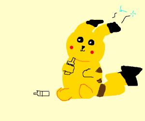 Drunk pikachu