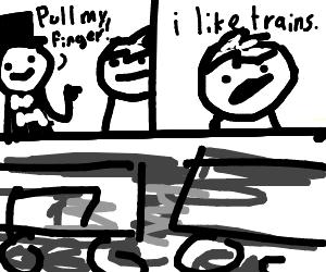 Hurricane Harry vs. the I like trains kid