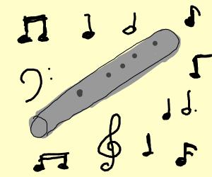 Squidward's clarinet