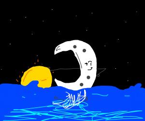 Sunse- Wait... No, it's a Moonset