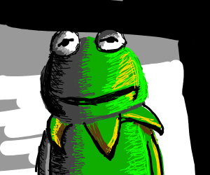 Depressed detailed Kermit