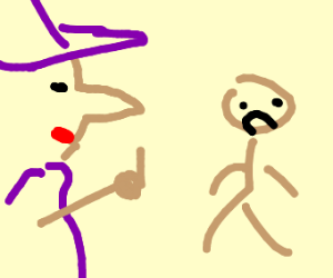 Witch curses someone
