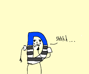 Drawception mime