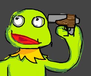 Kermit gotta end it all