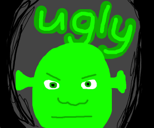 Ugly Shrek