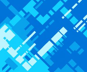 Sifi-pattern of squares