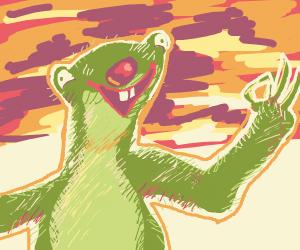 Green Sid. (Ice age)