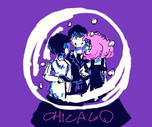 Snow Globe of Chicago