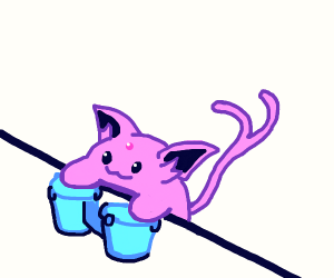 Espeon bongo cat