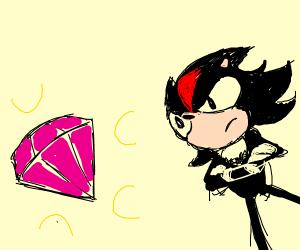Shadow found a chaos emerald
