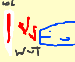 Blue Whale vs Thermometer
