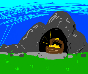 Treasure in the tunnel