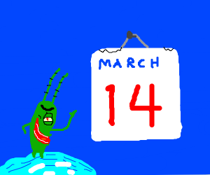 March 14th: The Day That Krabs Fries