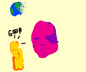 Thanos Snaps Earth