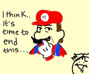 mario ponders retirement