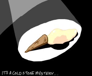 Mysetrious ice cream