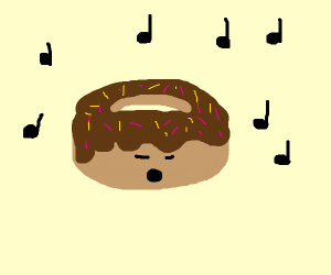 Singing Chocolate Donut