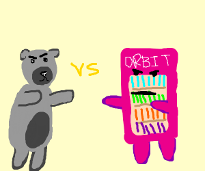Tonight on WWE:Silver Bear vs The Gum Machine